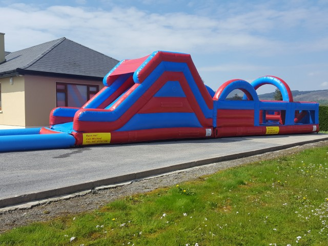 New Super Slide with Pool 60ft