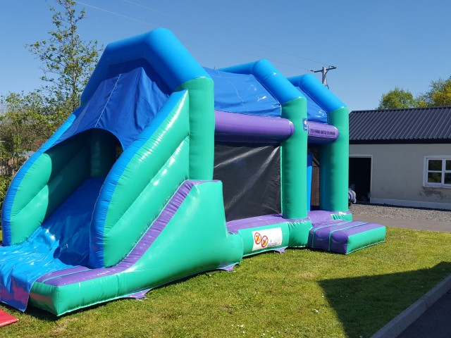 New Blue & Green Obstacle Course 27ft