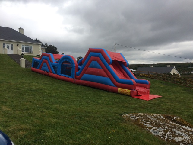 Red & Blue Obstacle Course