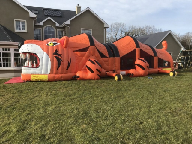The Tiger Course Donegal Bouncy Castle Hire Company