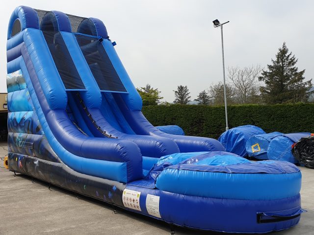 The NEW Water Slide