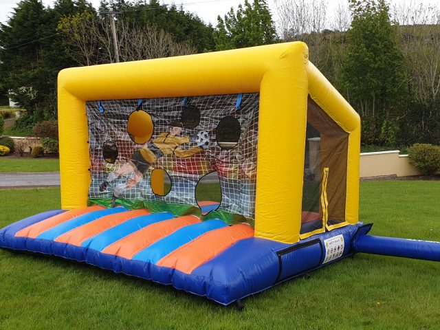 NEW Inflatable Soccer Goals